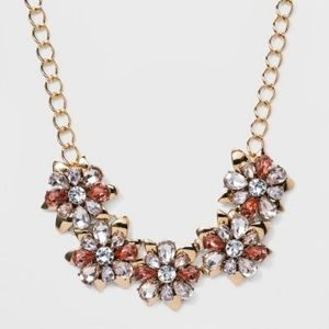 SUGARFIX BaubleBar Chic Floral Statement Necklace